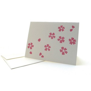 Pattern Note Cards – Pink Sakura